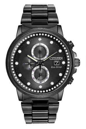 Citizen Eco-Drive Nighthawk Analog FB3005-55E Watch (New with Tags)