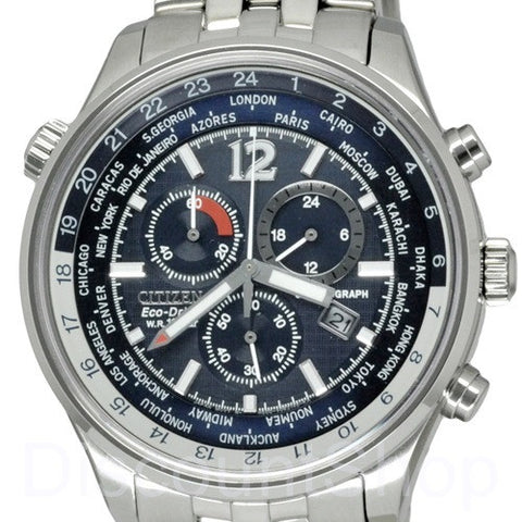 Citizen Eco-Drive Chronograph AT0360-50L Watch (New with Tags)