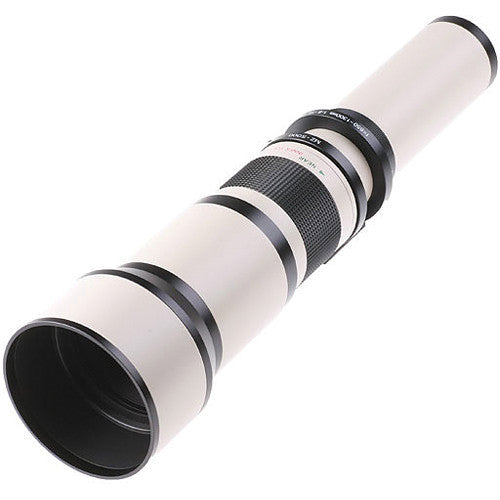 Samyang 650-1300mm MC IF f/8-16 Lens with T-Mount Adapter (Canon)
