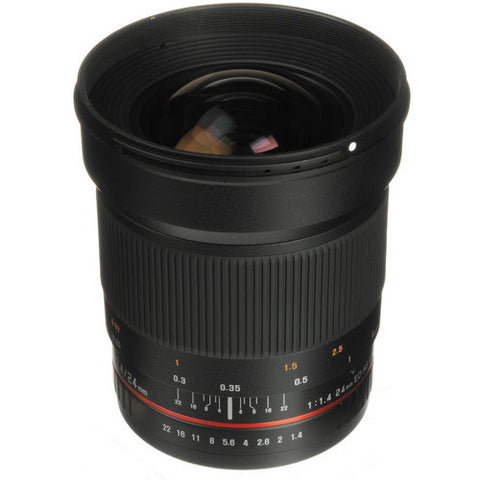 Samyang 24mm f/1.4 ED AS UMC Wide-Angle Lens (Samsung NX)