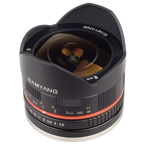 Samyang 8mm f/2.8 Fish-eye CS (Samsung) Lens