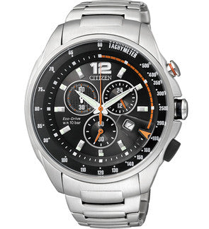 Citizen Eco-Drive Chronograph AT0796-54E Watch (New with Tags)