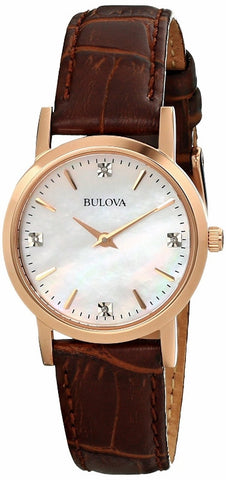 Bulova Diamond Gallery Analog 97P105 Watch (New with Tags)