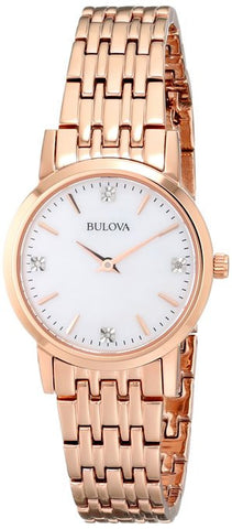 Bulova Diamond Gallery Analog 97P106 Watch (New with Tags)