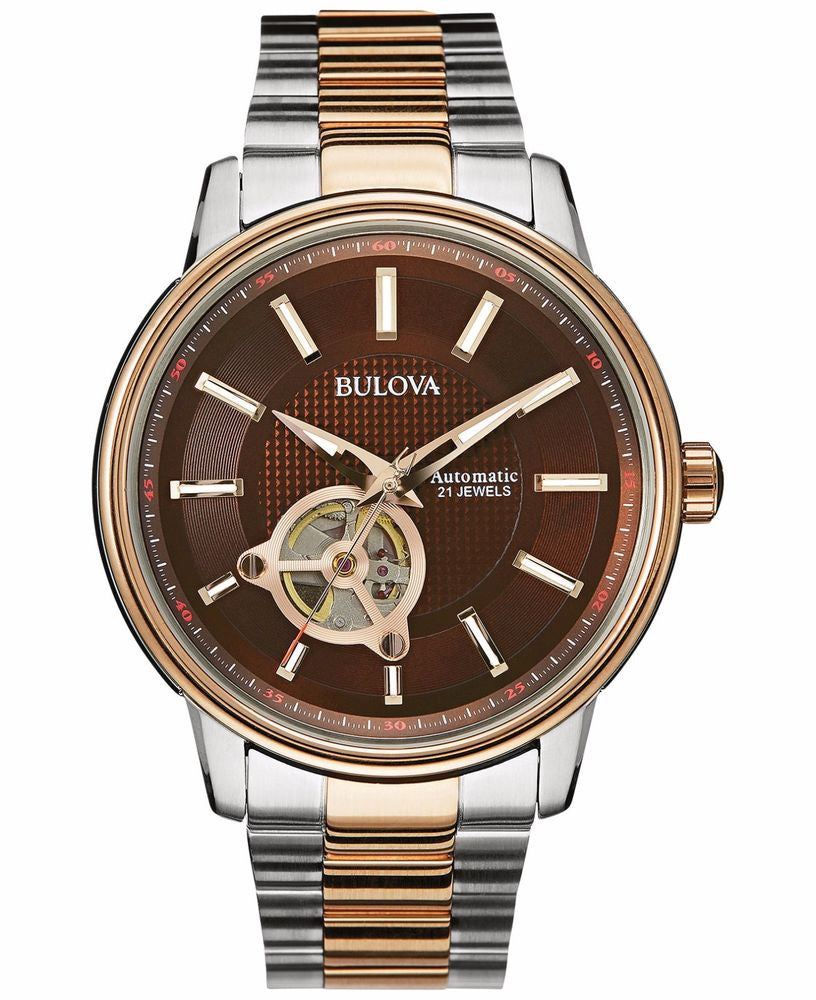 Bulova Skeletonized 98A140 Watch (New with Tags)