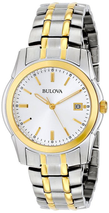 Bulova Dress Stainless Steel 98H18 Watch (New with Tags)