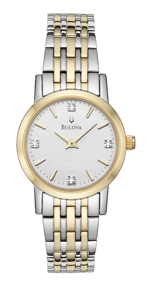 Bulova Diamond Gallery Analog 98P115 Watch (New with Tags)