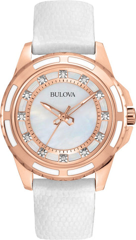 Bulova Diamond Gallery Analog 98P119 Watch (New with Tags)
