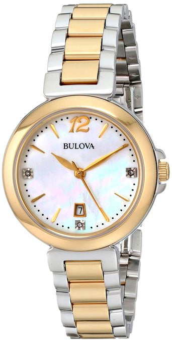 Bulova Diamond Gallery Analog 98P142 Watch (New with Tags)