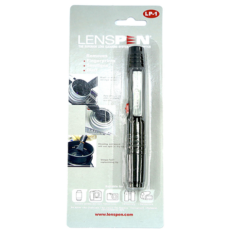 LensPen Durable Cleaning Camera Lens Pen Brush Black