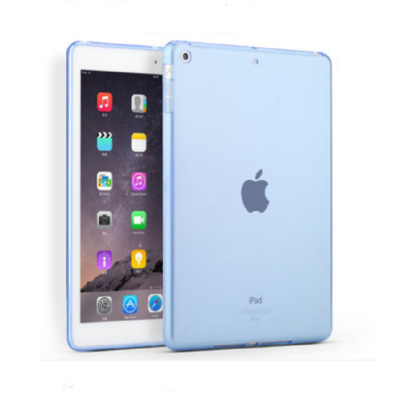 Thin Protective Sleeve Shell for Apple iPad Air (Through Blue)