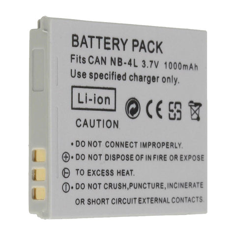 Generic NB-4L Battery for Canon