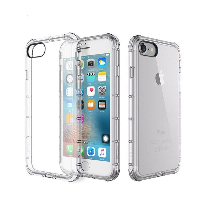 Silicone Crystal Shield Case 4.7 inch for iPhone 7 (Transparent)