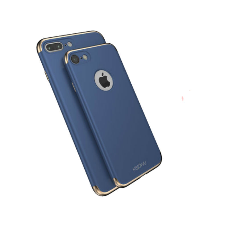 Shell Protective Thin Sleeve 5.5 inch for iPhone 7 Plus (Blue)