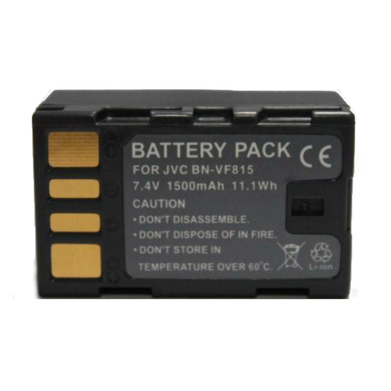 Generic BN-VF815 Decoded Battery for JVC