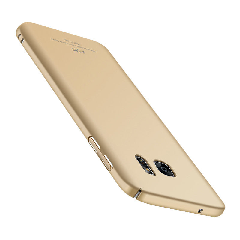 Classic Face Shield Phone Shell for Samsung S7 (Champagne)