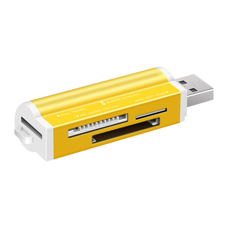 Generic High-Speed Multi-Card Reader (Gold)
