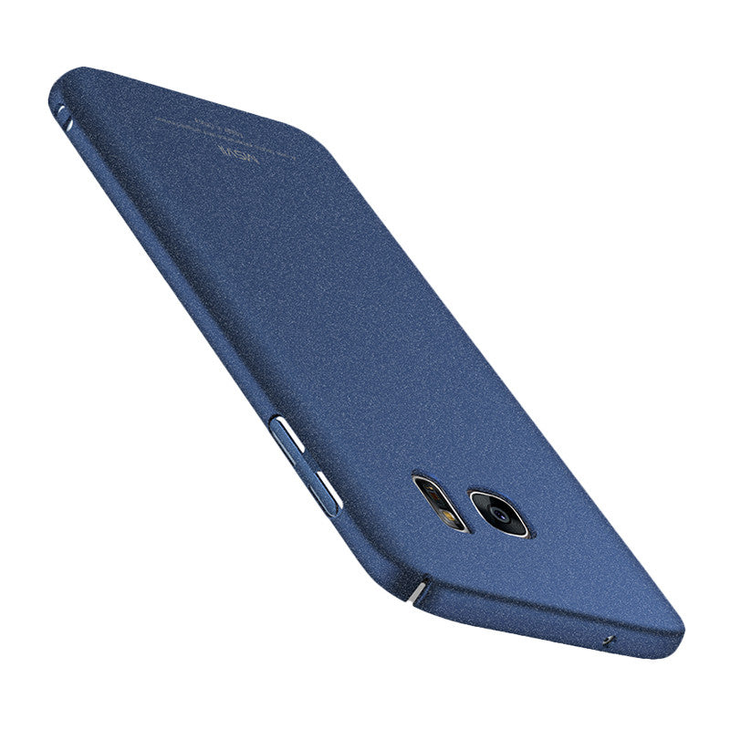 Classic Rock Sand Surface Screen Phone Shell for Samsung S7 (Sapphire Blue)