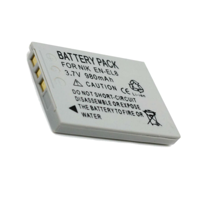 Generic ENEL8 Battery for Nikon