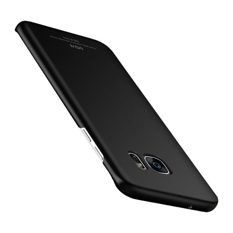 Graphite Surface Screen Phone Shell for Samsung S7 (Black)