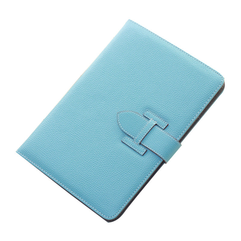 Handheld Drop Resistance Protective Sleeve with Holster Belt for Apple iPad Air 2 (Sky Blue)