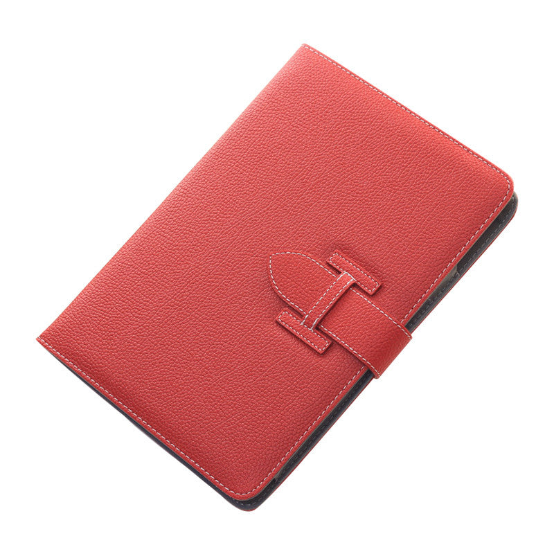Handheld Drop Resistance Protective Sleeve with Holster Belt for Apple iPad Air 2 (Red)