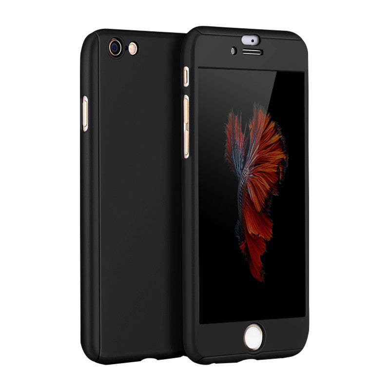 Hard Shell Matte Case 5.5 inch for iPhone 6 Plus/6S Plus (Black)