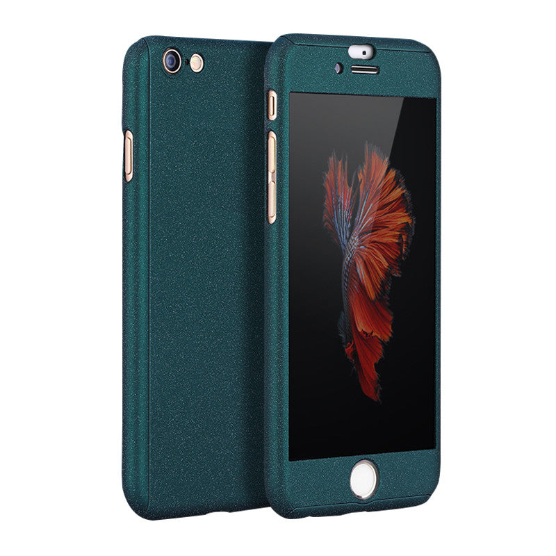 Hard Shell Matte Case 5.5 inch for iPhone 6 Plus/6S Plus (Dark Green Blue)