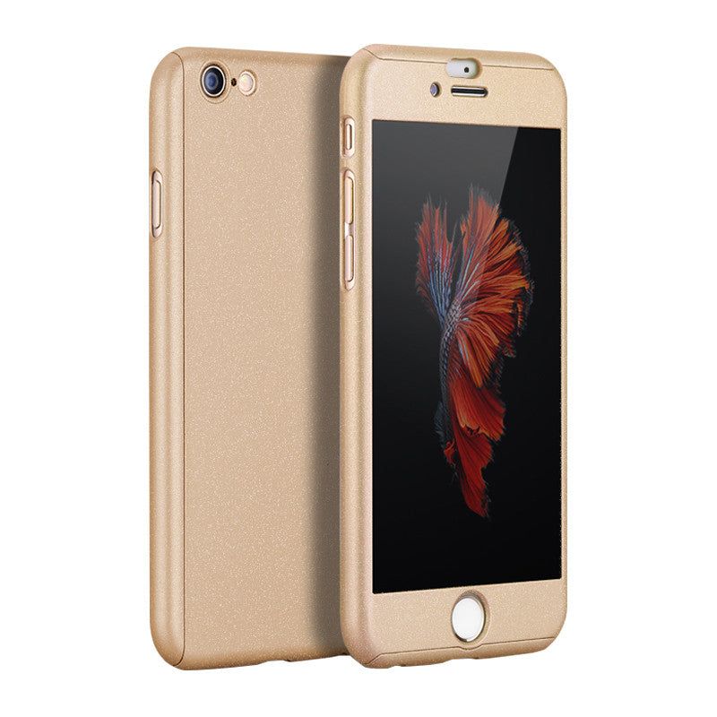 Hard Shell Matte Case 5.5 inch for iPhone 6 Plus/6S Plus (Champagne)