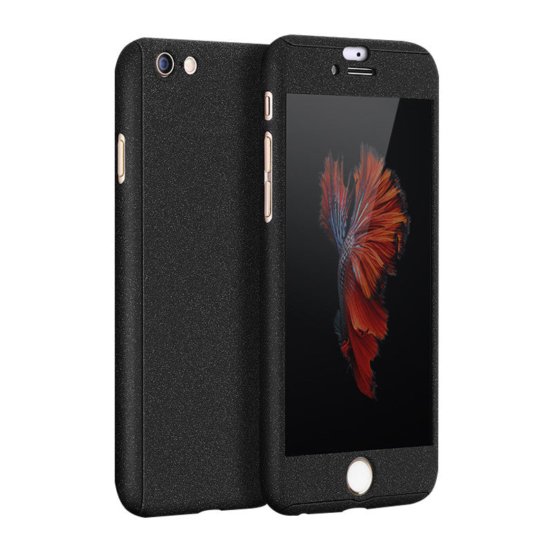 Hard Shell Matte Case 4.7 inch for iPhone 6/6S (Fortitude Black)