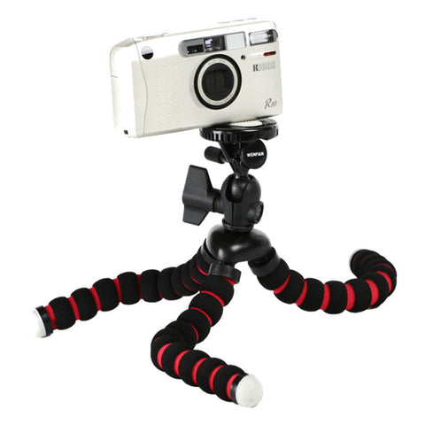 Generic Portable Mini Octopus Clip-On Tripod Mobile Phone Holder