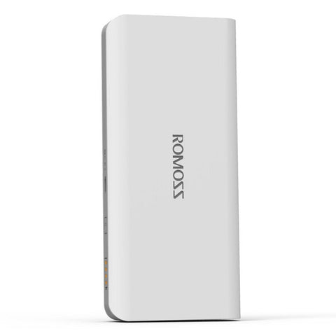 Romoss Sense 4 LED 10400mAh Polka Dot Power Bank (White)
