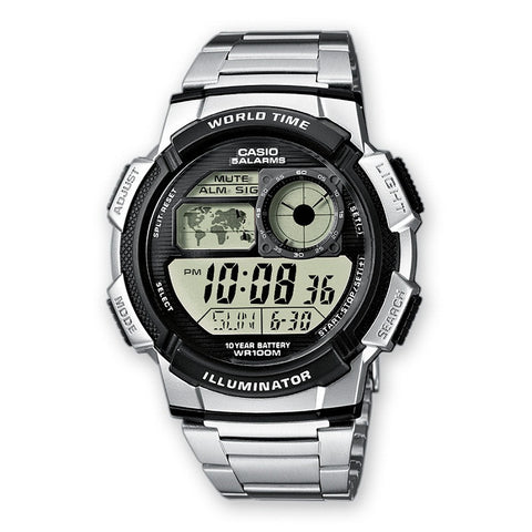 Casio Youth Digital AE-1000WD-1AV Watch (New with Tags)