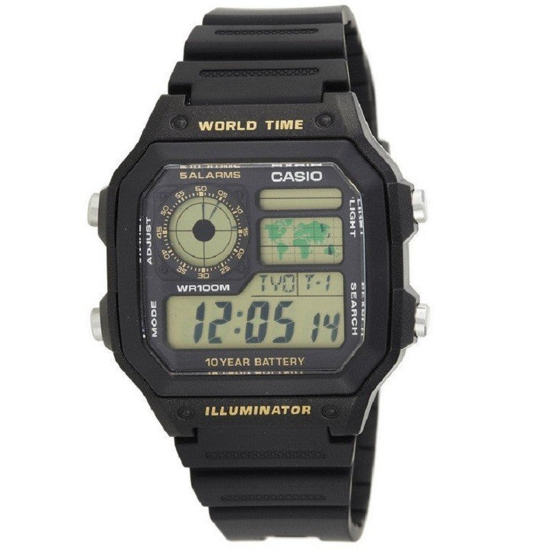 Casio Classic Digital AE-1200WH-1BV Watch (New with Tags)