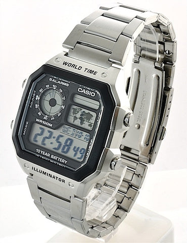 Casio Classic Standard Digital AE-1200WHD-1A Watch (New with Tags)