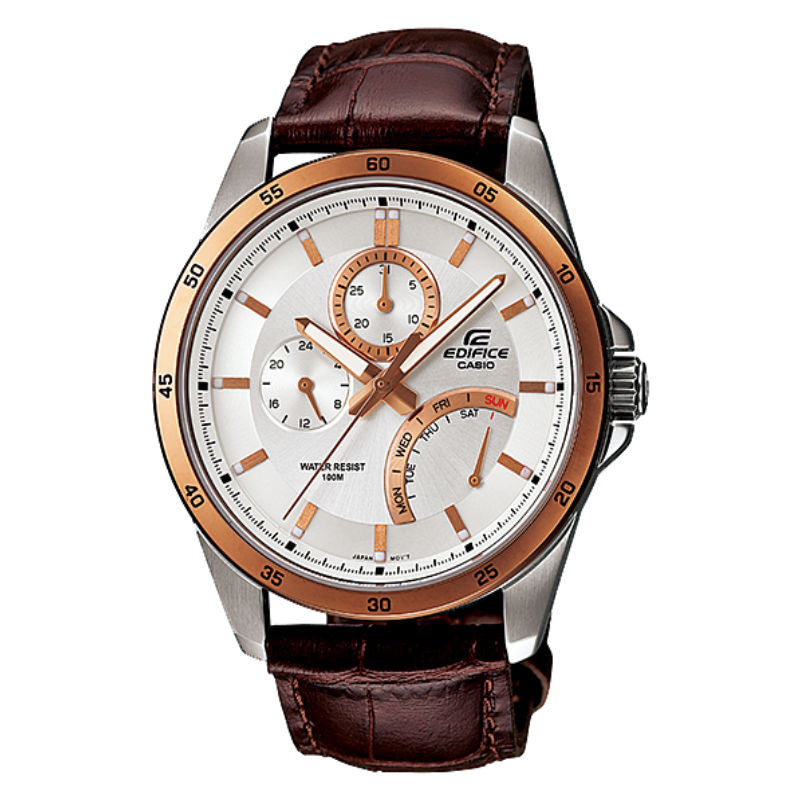 Casio Edifice Multi-Hand EF-341L-7A Watch (New With Tags)