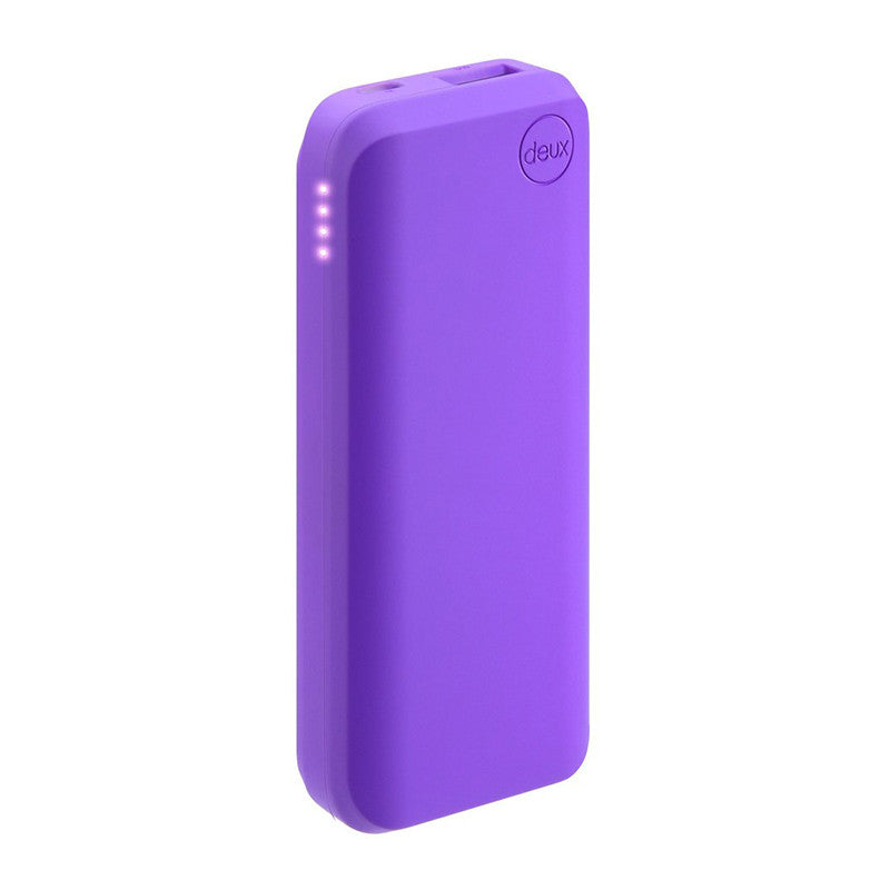 Amuse Deux 6000 mAh Polymer Power Bank (Velvet Purple)