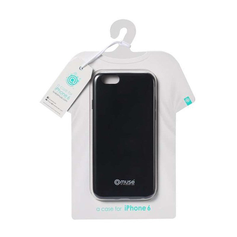 Amuse Wear the iPhone 6 Series TPU Case (Matte Black)