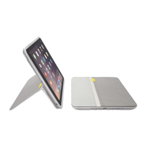 Logitech AnyView Folio with Any Angle Stand Tablet Cover for iPad Air 2 Pale Grey