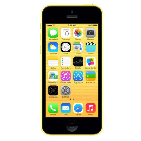 Apple iPhone 5C 16GB 4G LTE Yellow Unlocked (Refurbished- Grade A)
