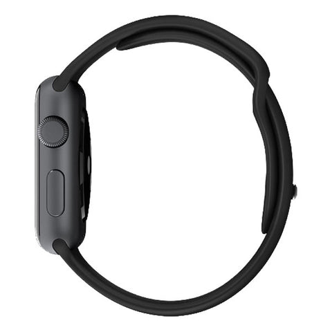 Apple Watch Sport 38mm Aluminum Case Sport Band MJ2X2 (Black)