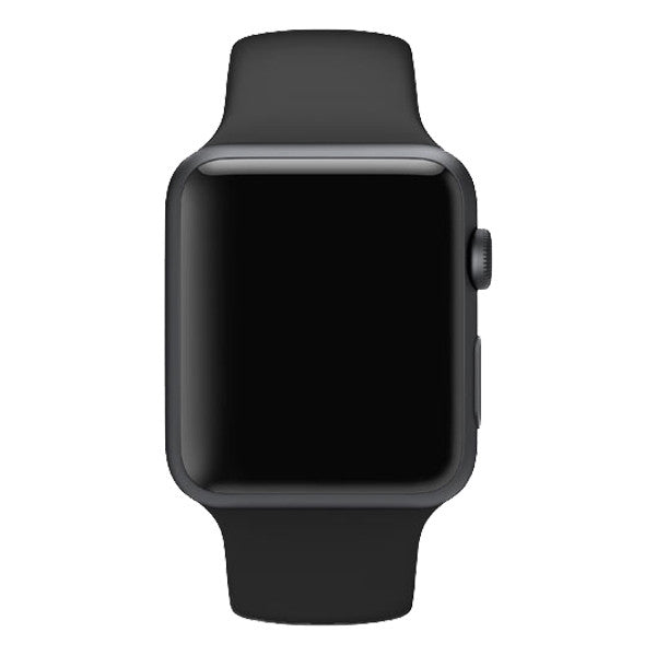 Apple Watch Sport 42mm Aluminum Case Sport Band MJ3T2 (Black)