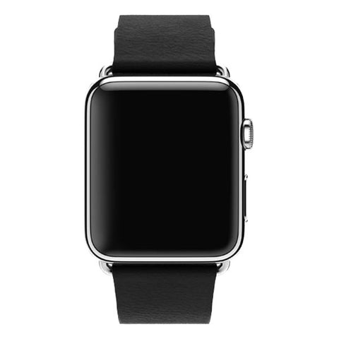 Apple Watch 38mm Stainless Steel Case Classic Buckle MLE62 (Black)