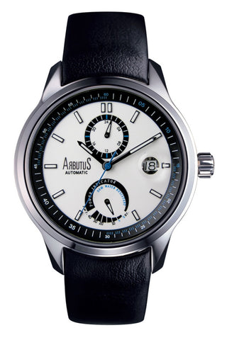 Arbutus Councilor Power Reserve Automatic AR0081WB Watch (New with Tags)