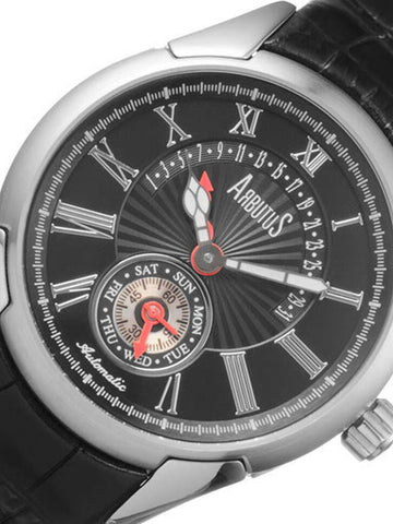 Arbutus Love Peter Automatic Mechanical AR0085SBBA Watch (New with Tags)