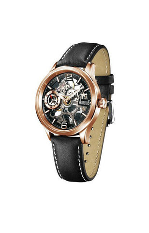 Arbutus Love Peter Skeleton Mechanical AR501RBB Watch (New with Tags)
