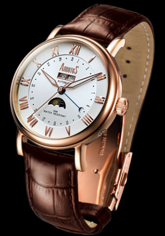 Arbutus New York Classic Automatic AR502RMF Watch (New with Tags)