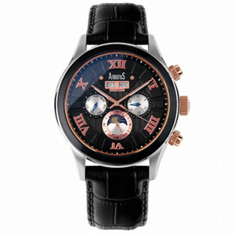 Arbutus New York Park Ave Automatic AR609TBBB Watch (New with Tags)