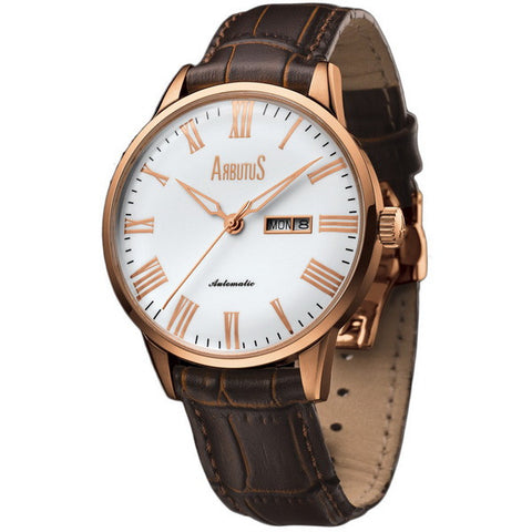 Arbutus Automatic AR715RWF Watch (New with Tags)