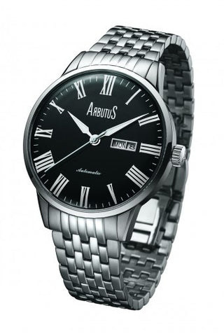 Arbutus Ceramic Automatic AR715SBS Watch (New with Tags)